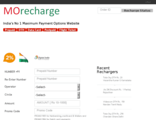 morecharge.in screenshot