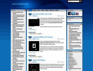 morechristlike.com screenshot