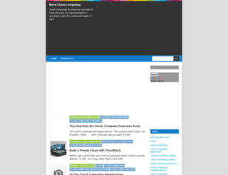 morecloud.blogspot.com screenshot