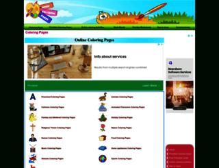 morecoloringpages.com screenshot