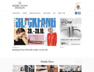 moredesign.at screenshot