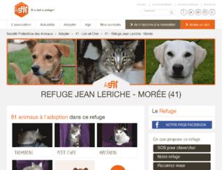 moree.spa.asso.fr screenshot