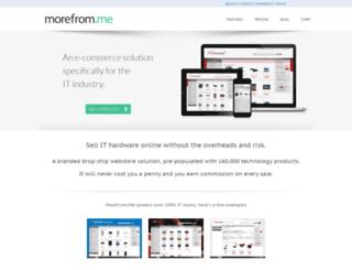 morefromgroup.co.uk screenshot