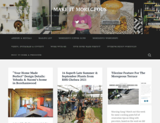 moregeous.wordpress.com screenshot