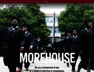 morehouse.edu screenshot