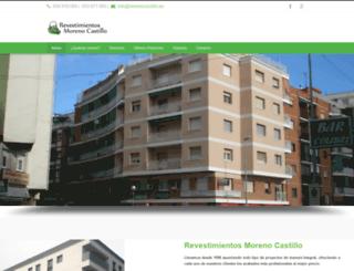morenocastillo.es screenshot
