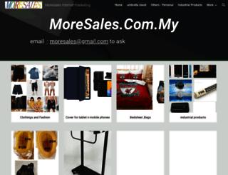 moresales.com.my screenshot