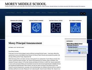 morey.dpsk12.org screenshot