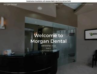 morgandental.com screenshot