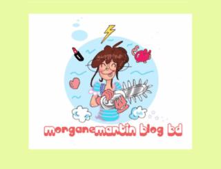 morganemartinblog.free.fr screenshot