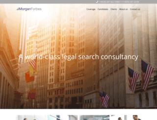 morganforbes.com screenshot