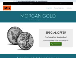 morgangold.com screenshot