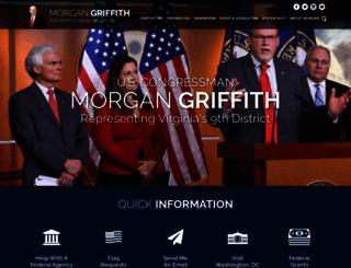 morgangriffith.house.gov screenshot
