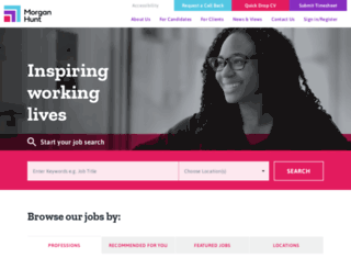 morganhunt.com screenshot