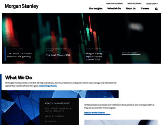 morganstanley.com screenshot