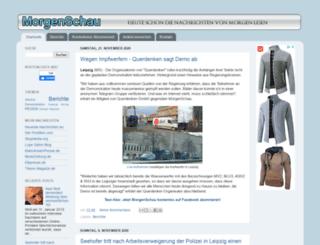 morgenschau.blogspot.de screenshot