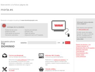 moria.es screenshot