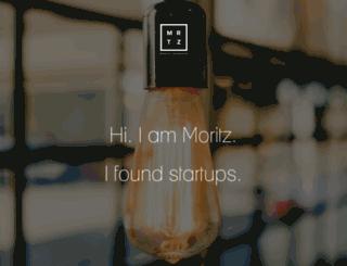 moritz-bernhard.de screenshot