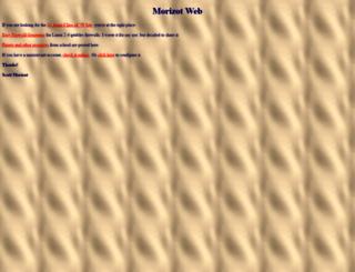 morizot.net screenshot
