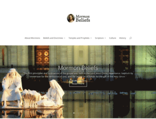 mormonbeliefs.org screenshot