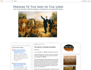 mormonmission.blogspot.com screenshot