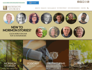 mormonstories.org screenshot