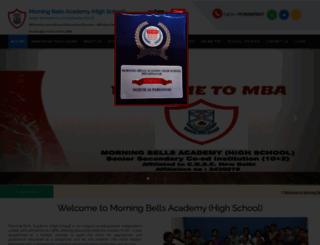 morningbellsacademy.com screenshot