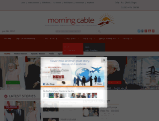 morningcable.com screenshot