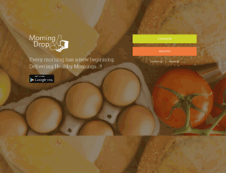 morningdrop.com screenshot