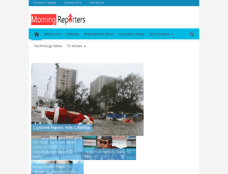 morningreporters.com screenshot