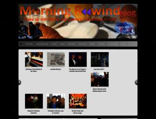 morningrewind.wordpress.com screenshot