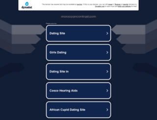 moroccancontrast.com screenshot