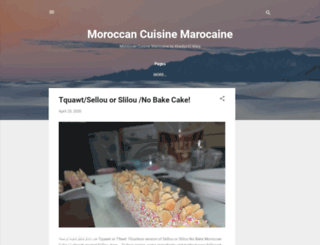 moroccancuisinemarocaine.blogspot.co.uk screenshot