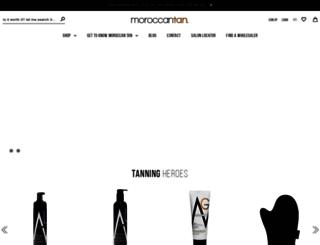 moroccantan.com.au screenshot