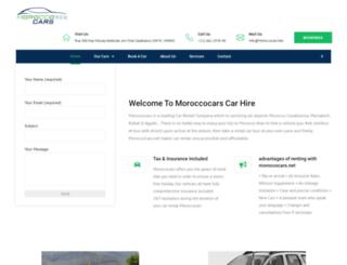 moroccocars.net screenshot