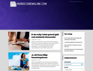 morocconewsline.com screenshot