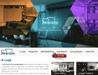 morozinipersonalizados.com.br screenshot