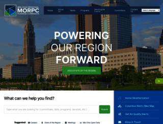 morpc.org screenshot