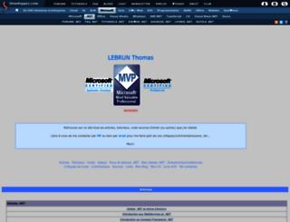 morpheus.developpez.com screenshot