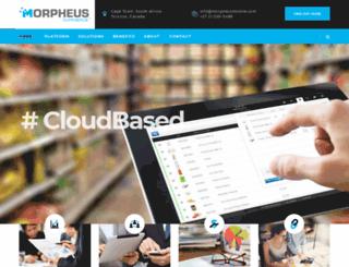 morpheuscommerce.com screenshot