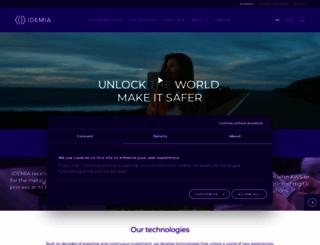 morpho.com screenshot