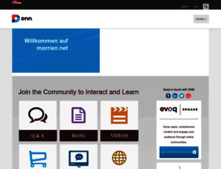 morrien.net screenshot