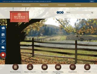 morristwp.org screenshot
