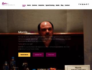 morrisyoureyeonthefuture.com screenshot
