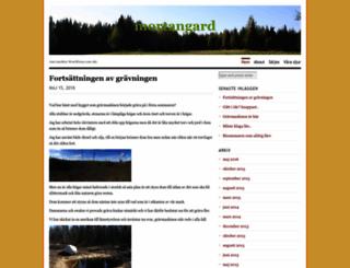 mortangard.wordpress.com screenshot