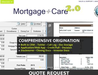 mortcare.net screenshot