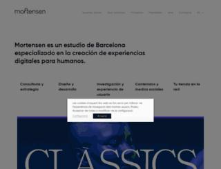 mortensen.es screenshot