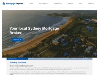 mortgageexpertsonline.com.au screenshot