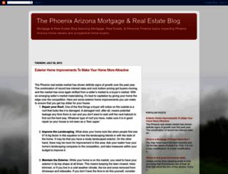 mortgagemarketnews.blogspot.com screenshot