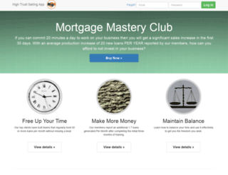 mortgagemasteryclub.com screenshot